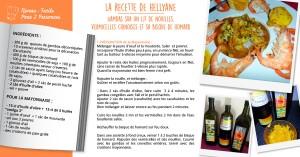la recette de Hellyane