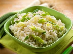 riz en plat