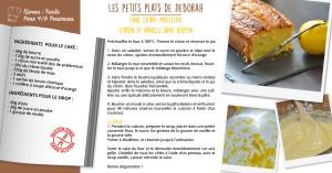 cake moelleux citron et vanille sans gluten