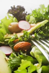 la recette de pilar avec une salade verte