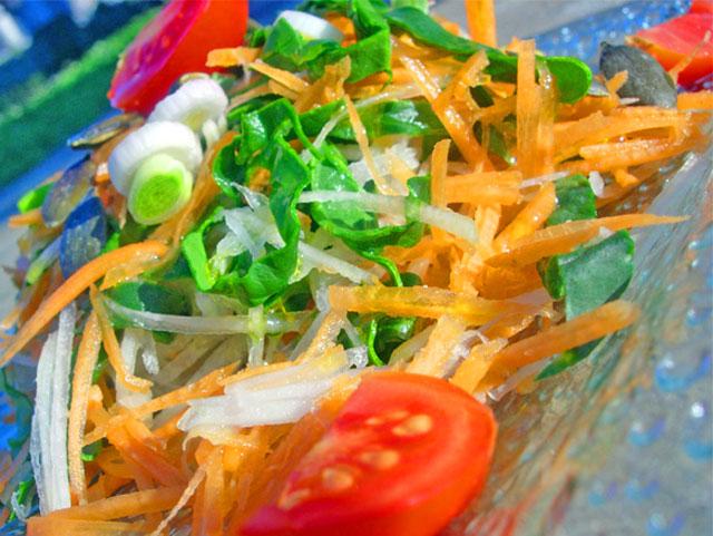 Salade calcium